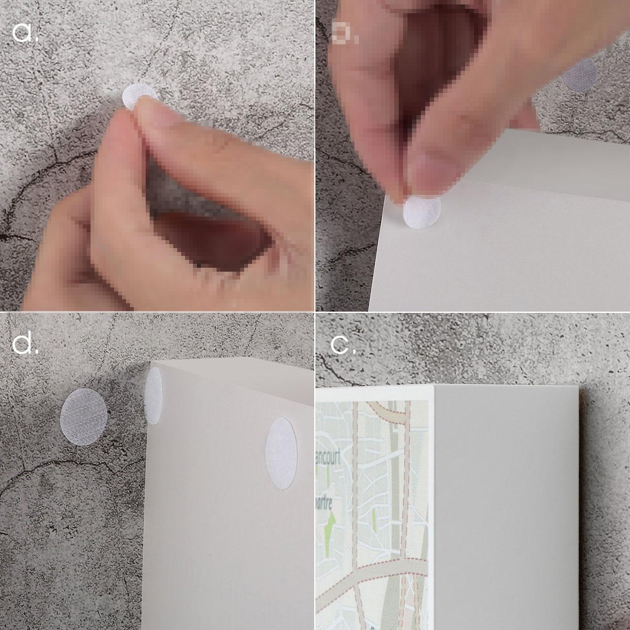 背胶冲型产品使用图