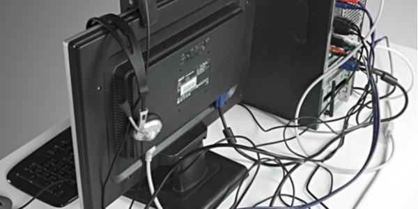 还在为电脑电器电线凌乱而操心吗?