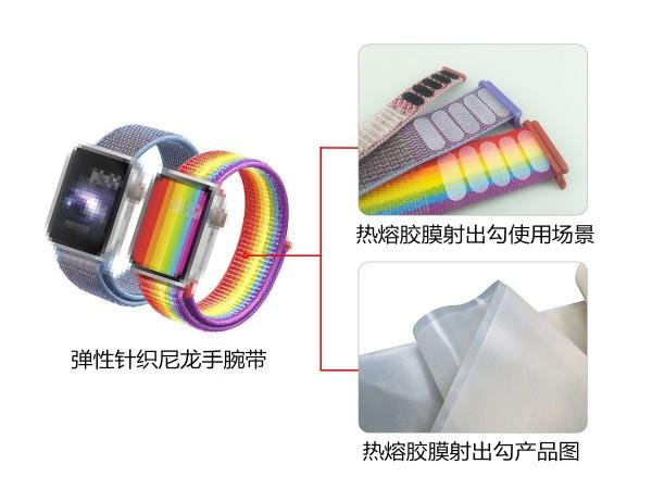 东莞杰诚粘扣为手腕带产品-提供魔术贴解决方案